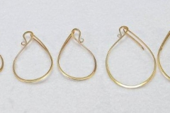 Swan Earrings Several Sizes 2485